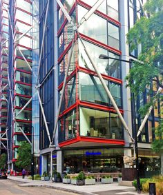 NEO Bankside-London-Richard Rogers-apartments-Bankside-Thames-architecture