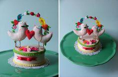 quer bolo fake? faça com estilo! <3