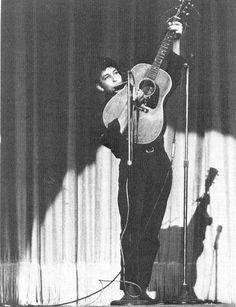 dylan at carnegie hall, 1961