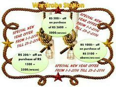 New Year Offers, Place Card Holders, Kurti, Sarees, Campaign, Android, Content, Sign, Medium