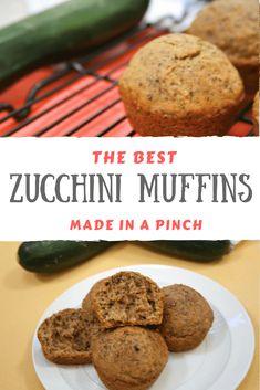 zucchini muffins #MerryMonday