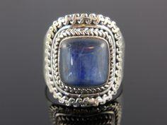 Kyanite Sterling Silver Ring - Size 8