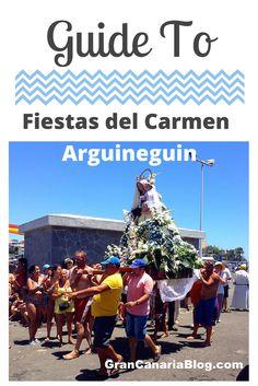 Guide to Fiestas del Carmen Arguineguin Gran Canaria