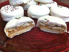 Sweet Peony: white chocolate peanut butter cookies