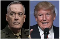 """Donald Trump's Coming Clash With the Military Generals  Last week, Donald Trump likened the nation's military brass, led by General Joseph Dunford, to """"rubble."""""""
