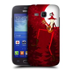 Head Case Thin Santa Protective Back Case Cover for Samsung Galaxy Ace 3 S7270