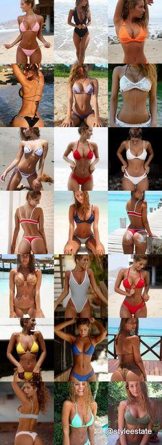 IG Model @SierraSkyee's 22 Top Bikinis and Swimsuits 2016