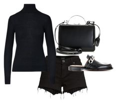 """""""Untitled #23469"""" by florencia95 ❤ liked on Polyvore featuring Hudson Jeans, Mark Cross, Ralph Lauren Collection and Givenchy"""