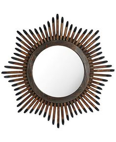 Bombay Convex Wall Mirror, 33.5""
