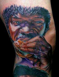 Pulp Fiction Tattoo by Cecil Porter Pulp Fiction Tattoo, Wicked Tattoos, Movie Tattoos, Quentin Tarantino Films, Tattoo Henna, Tattoo Ink, Tattoo Designs, Tattoo Addiction, Tattoo Spirit