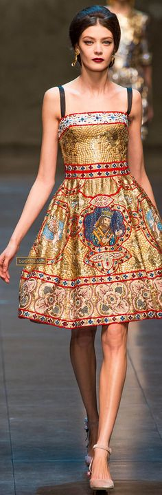 Dolce & Gabbana Fall/Winter 2013-2014 RTW