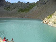 Hautes Alpes: lac de l'Eychauda