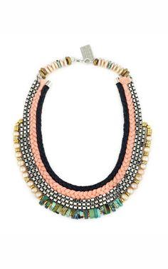 Rose Hall Necklace by Lizzie Fortunato - Moda Operandi