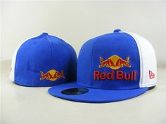 Red Bull Fitted Hats 010