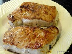 101 Cooking For Two - Everyday Recipes for Two: Pan Seared Oven Roasted Pork Chops from Loin