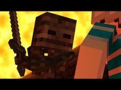 Slamacow's Minecraft video of a wither skeleton encounter. youtube.com/SlamacowCreations