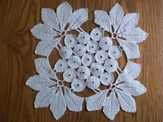 Vintage Hand Crocheted