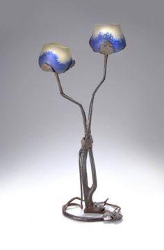 Lot   Sothebys   Art nouveau lighting, Art nouveau