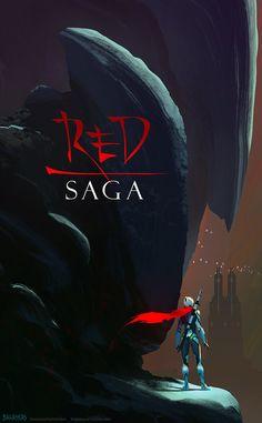 Red Saga, Christopher Balaskas on ArtStation at https://www.artstation.com/artwork/red-saga