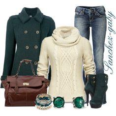 Dark Green Coat