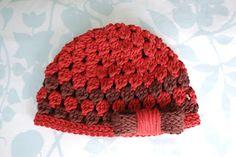 Alli Crafts: Free Pattern: Cluster Hat - 6 Months