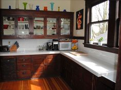 1912 Craftsman Kitchen by American Vintage Home, via Flickr