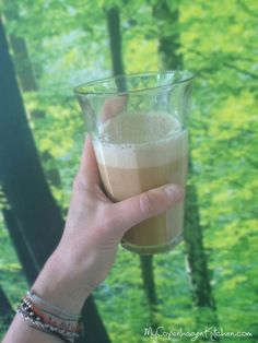 The zero-carb creamy latte - the famous egg latte. Check out the recipe here: MyCopenhagenKitchen.com