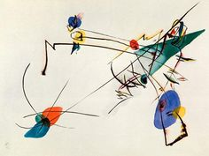 Vassily Kandinsky - Simple Watercolour
