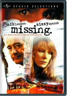 1982 ..Missing ..This seems to be an almost forgotten movie...worthwhile seeing starring Jack Lemmon and Sissy Spacek