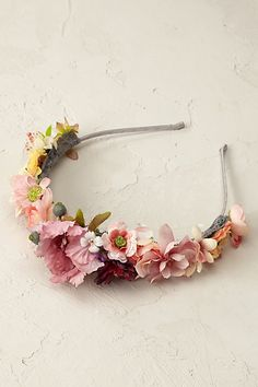 Anthropologie EU Summer Bouquet Headband