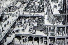 Robert Doisneau, les Halles, Paris