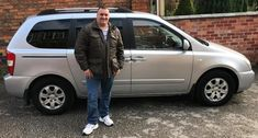 """""""Got a top quality Kia Sedona for a fair price . It will be the first place I go when I need another highly recommend them."""" - Robert H. Thanks for your business Robert! Enjoy the Kia Sedona and safe trip back to Walsall👍🚘👍 Walsall, Fair Price, Cars For Sale, Military Jacket, Business, Vehicles, Tops, Automobile, Field Jacket"""