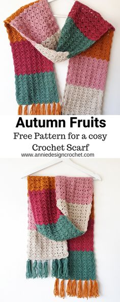 This free pattern for a cosy crochet scarf, is suitable for a beginner and is pe. This free pattern for a cosy crochet scarf, is suitable for a beginner and is perfect for cooler weather, to wrap you in. Crochet Scarf Easy, Crochet Diy, Easy Crochet Patterns, Crochet Scarves, Crochet Clothes, Knitting Patterns, Beginner Crochet, Crocheted Scarves Free Patterns, Knitting Beginners