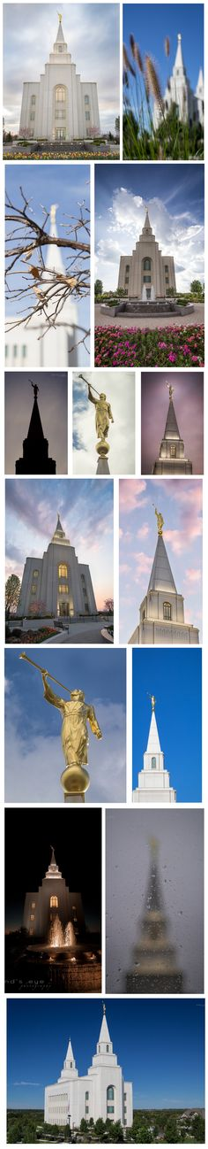 Kansas City Missouri LDS (Mormon) Temple. Spire. Moroni. Eternal Marriage. Family. Church of Jesus Christ of Latter Day Saints. CTR