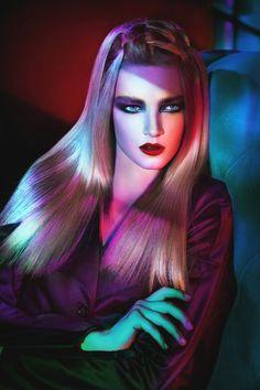 """Luminescence"" | Models: Masha Keidj, Adel, Helga Gelfrikh, Kristina Purvinska & Dari, MUA: Marina Roy, Hair Stylist: Evgenia Dubchak, Photographer: Andrey Yakovlev, July 2015"