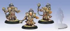 Warmachine Mercenaries Tactical Arcanist Corps Rhulic Unit (3) WEB
