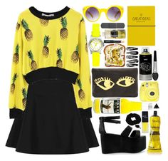 """Citrus Jones"" by zoe-sunshine ❤ liked on Polyvore"