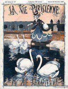 La Vie Parisienne, Samedi 20 Novembre 1915 ~ Georges Léonnec #LaVieParisienne #Léonnec #Novembre1915