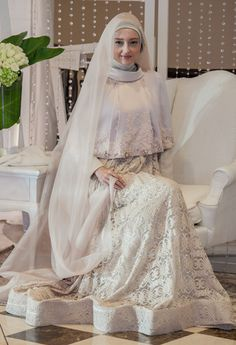 Model Gaun Brokat Pernikahan