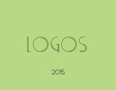 """Check out new work on my @Behance portfolio: """"LOGOS 2015"""" http://be.net/gallery/34194289/LOGOS-2015"""