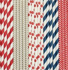 Navy and Red Nautical Boy- Sailor theme // Chevron Stripe Straws // Polka Dot Paper Straws TheSimplyChicShop Nautical Cake Pops, Nautical Party, Hen Ideas, Nautical Bachelorette, Sailor Theme, Pure Romance Party, Independance Day, Polka Dot Paper, Blue Crush