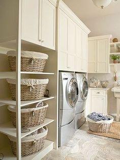Tutto in ordine in lavanderia