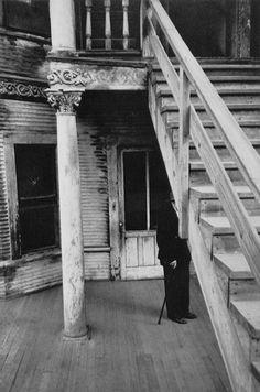 Robert Frank (U.S.A., b. Switzerland 1924) 'Rooming house, Bunker Hill, Los Angeles' 1955-56