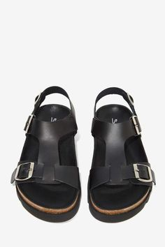 Sixty Seven Neva Leather Sandal - Flats   All   Shoes      Accessories + Sandals