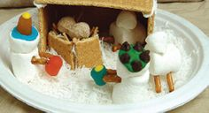 Edible Nativity - Great Sunday School project