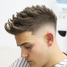 Texture hairstyles for men 2018