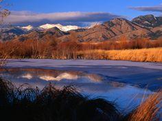 Bridger Mountains in our home of Bozeman, #Montana!