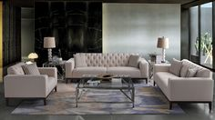 The MILANO sofa collection by Future Classics Furniture - so stylish and elegant Sofas, Armchair, Couch, Living Room, Elegant, Interiors, Furniture, Stylish, Home Decor