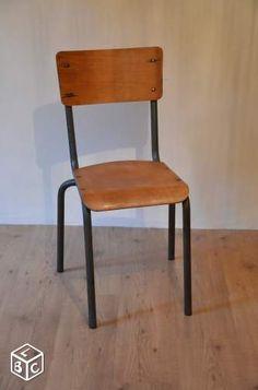 Chaise d'écolier - leboncoin junkshop