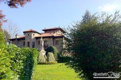 Casona Palacio Fuentes Pila, en Puente Viesgo. #Cantabria #Spain